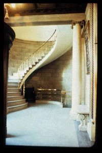 Interior Stairway, Bank of Hamilton Building, John. D. Atchison, Architect. 1916, Winnipeg, Manitoba