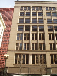 Second Lieter Building, Chicago.  Jenney and Mundie, Architects