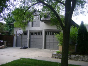Formerly stables, now a garage