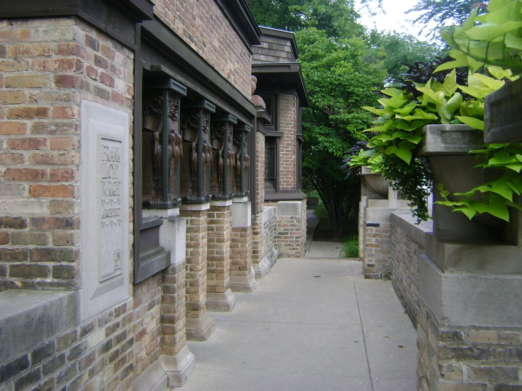 The Frank Lloyd Wright Studio in Oak Park