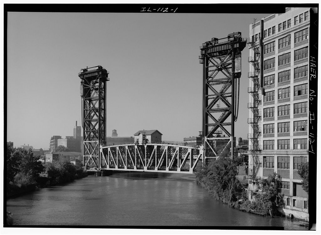 Pennsylvania RR Bridge, Chicago, 1908