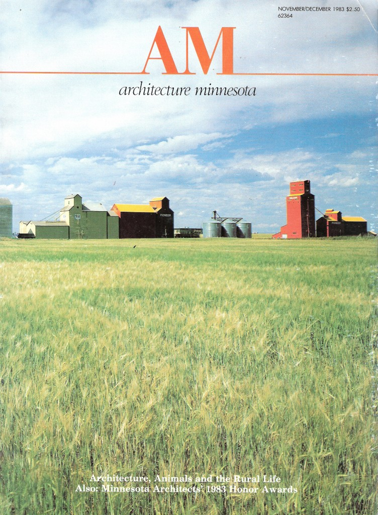 "November / December 1983 ""Minnesota Architect"" Cover Photo"