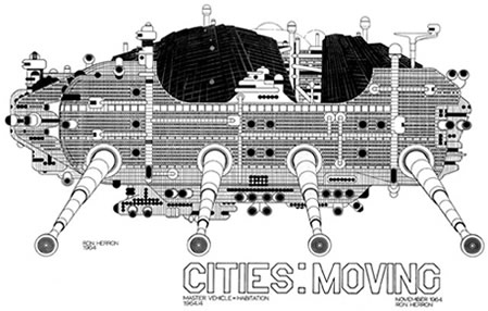 The Walking City, Archigram