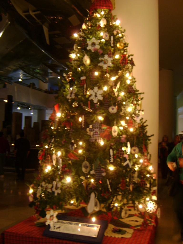 Scottish Christmas Tree at the Museum of Science and Industry